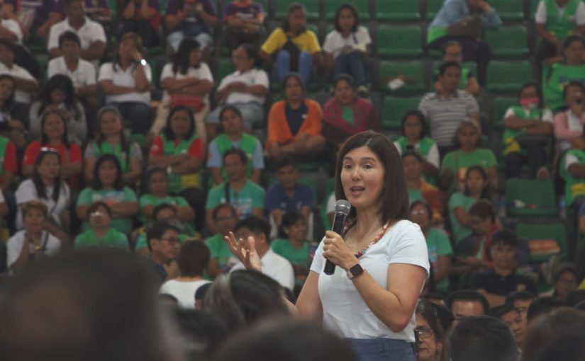 Pia hails Barangay Health Workers on Women's Month